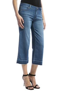 Shoptiques Product: Wideleg Cropped Jeans
