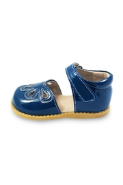 Livie & Luca Blue Petal Shoes - Product Mini Image
