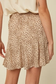 Listicle Living On The Wild Side Skirt - Front full body