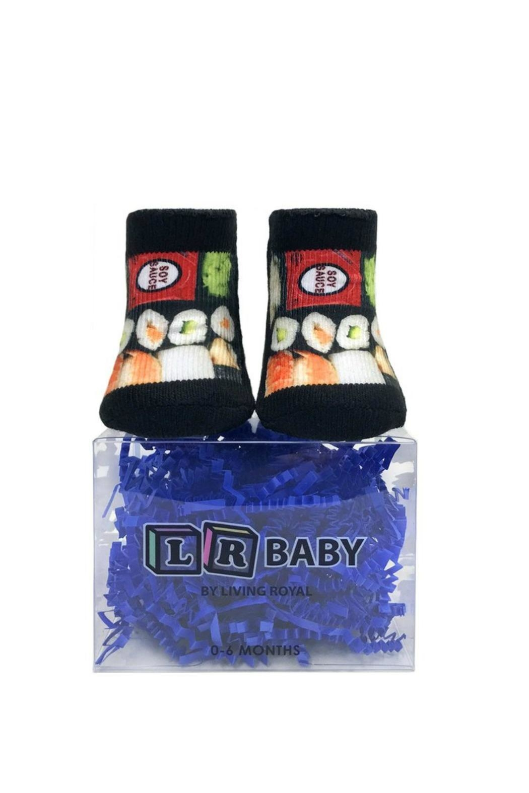 Living Royal Baby Sushi Socks - Side Cropped Image