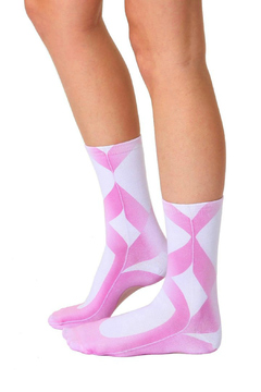 Living Royal Ballerina Crew Socks - Alternate List Image