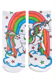Living Royal Crayola Unicorn Socks - Side cropped
