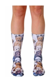Living Royal Dog Overload Socks - Front cropped