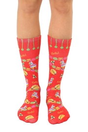 Living Royal Fiesta Crew Socks - Front cropped