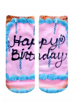 Shoptiques Product: Happy Birthday Socks