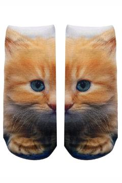 Shoptiques Product: Kitty Ankle Socks