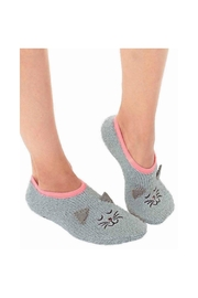 Living Royal Kitty Fuzzy Slippers - Product Mini Image