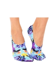 Living Royal Striped Butterfly Socks - Product Mini Image
