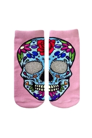 Living Royal Sugar Skull Socks - Product Mini Image