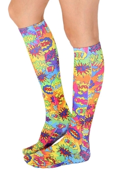 Living Royal Tye-Dye Popart Socks - Product List Image