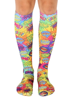 Living Royal Tye-Dye Popart Socks - Alternate List Image