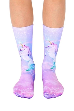 Living Royal Unicorn Dreams Socks - Alternate List Image