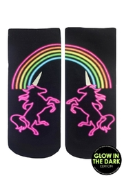 Living Royal Unicorn Glow Socks - Product Mini Image