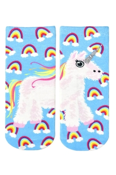 Living Royal Unicorn Piñata Socks - Alternate List Image