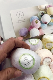 Liz Lush Natural Bath Bombs Gift Set - Front full body