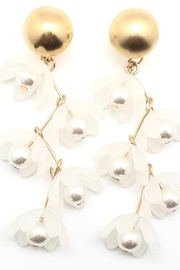 SHIVER + DUKE Liza Flower Dangle Earrings - Product Mini Image
