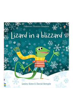 Usborne Lizard In A Blizzard - Product List Image
