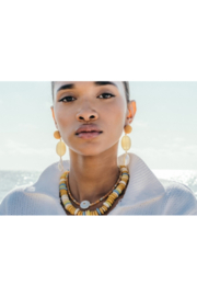 Lizzie Fortunato Golden Field Earrings - Front cropped