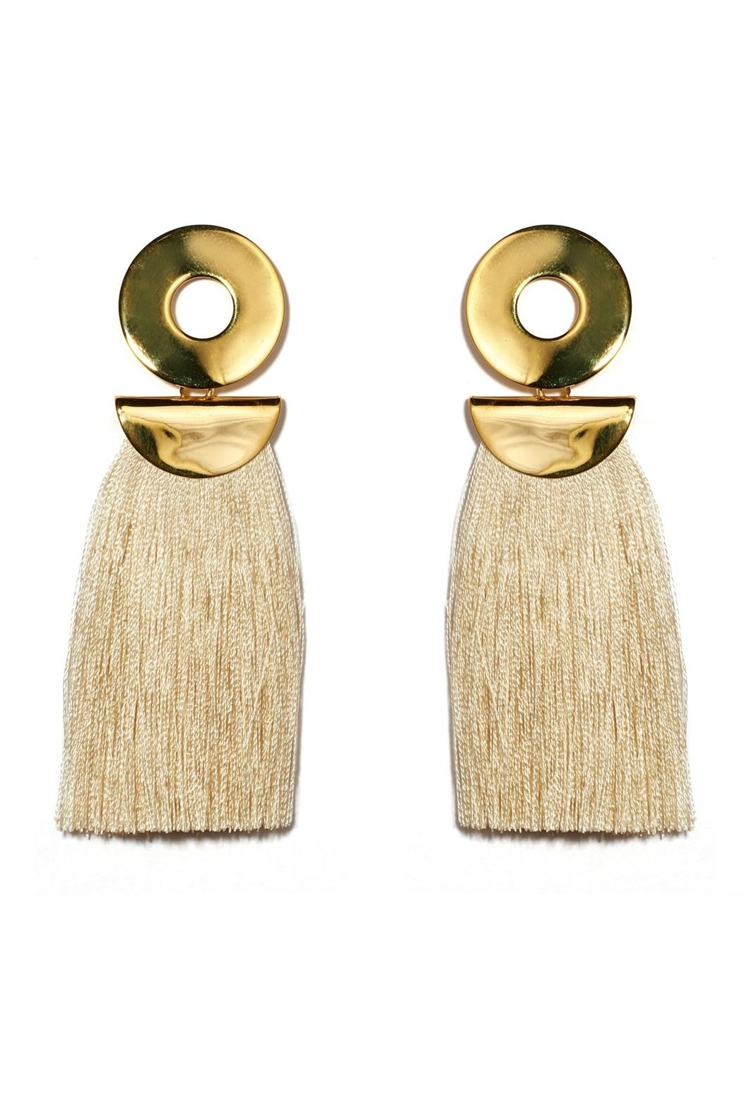 Lizzie Fortunato Go-Go Crater Earrings - Main Image