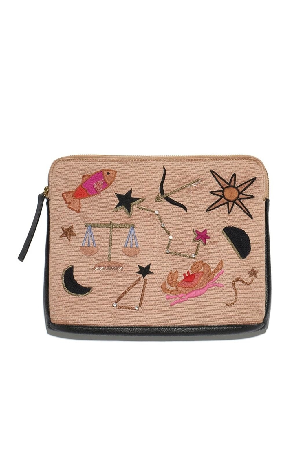 Lizzie Fortunato Horoscope Clutch - Main Image