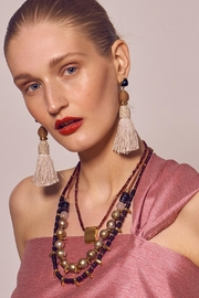 Lizzie Fortunato Modern Craft Earrings - Front full body