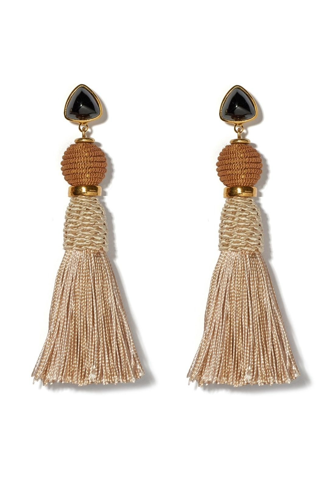 Lizzie Fortunato Modern Craft Earrings - Front Cropped Image