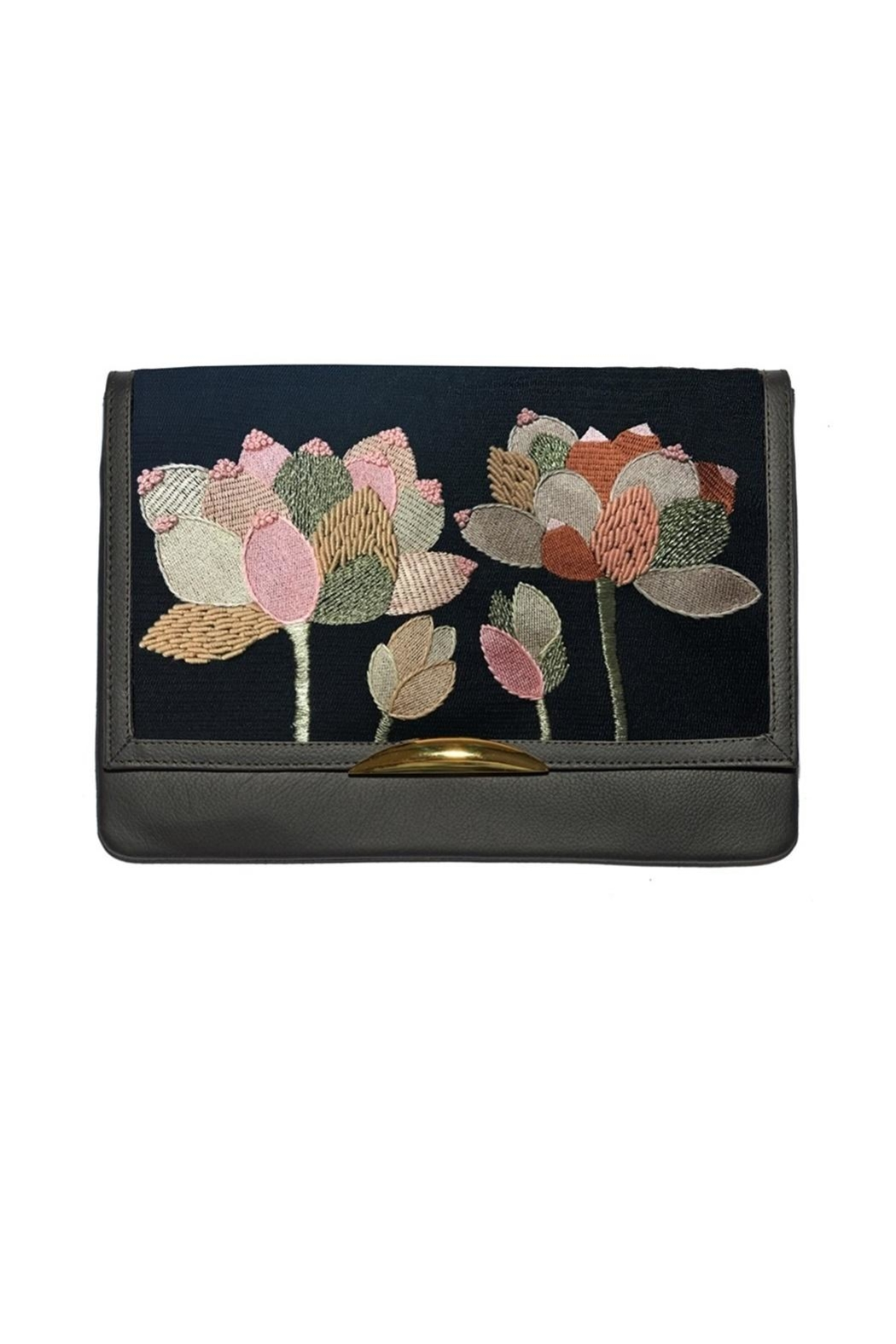 Lizzie Fortunato Port Call Clutch - Front Cropped Image
