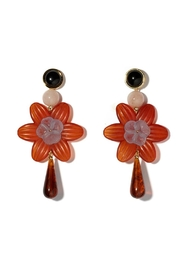 Lizzie Fortunato Sal Flower Earrings - Front cropped