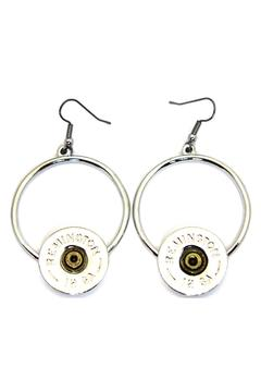 Shoptiques Product: Shotgun Shell Earrings