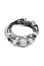 Lizzy James  The Lonny Leather Bracelet - Product Mini Image