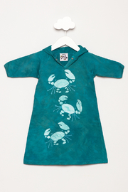 LizzyLoo Designs Crab Hoodie Coverup - Product Mini Image
