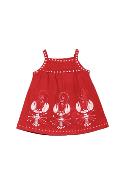 LizzyLoo Designs Lobster Babydoll Dress - Product List Image