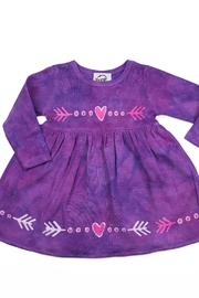 LizzyLoo Designs Infant Heart Dress - Front cropped