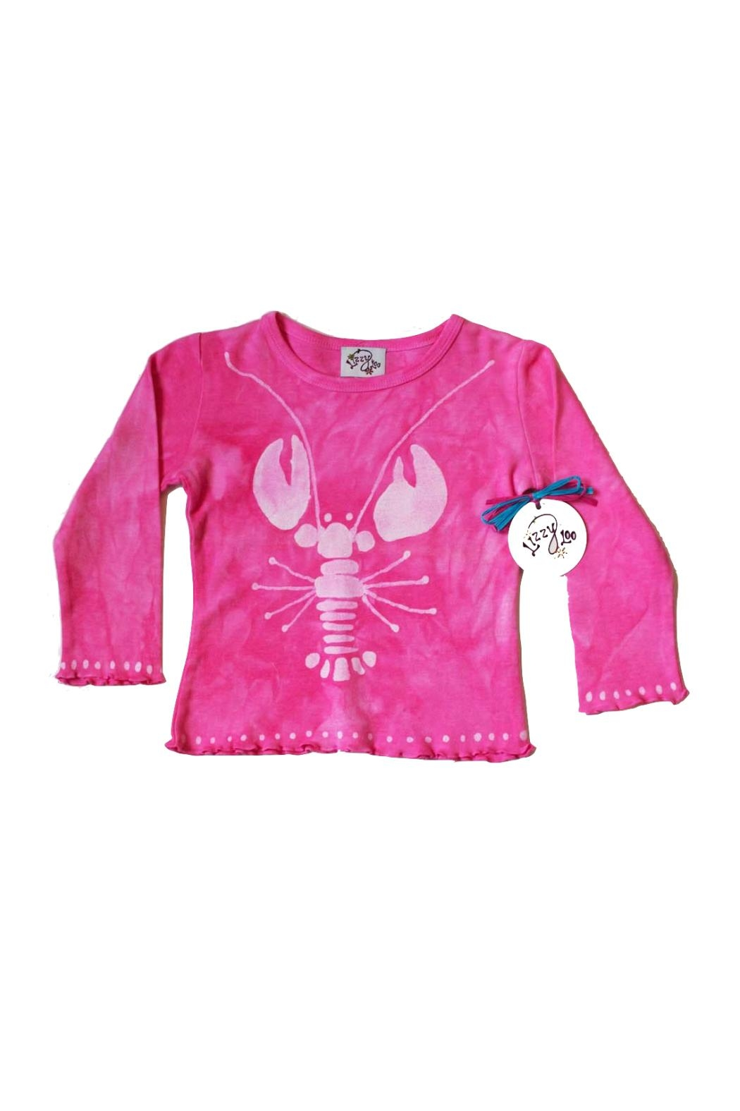 LizzyLoo Designs Lobster Long Sleeve Tee from Massachusetts by LizzyLoo & Friends — Shoptiques