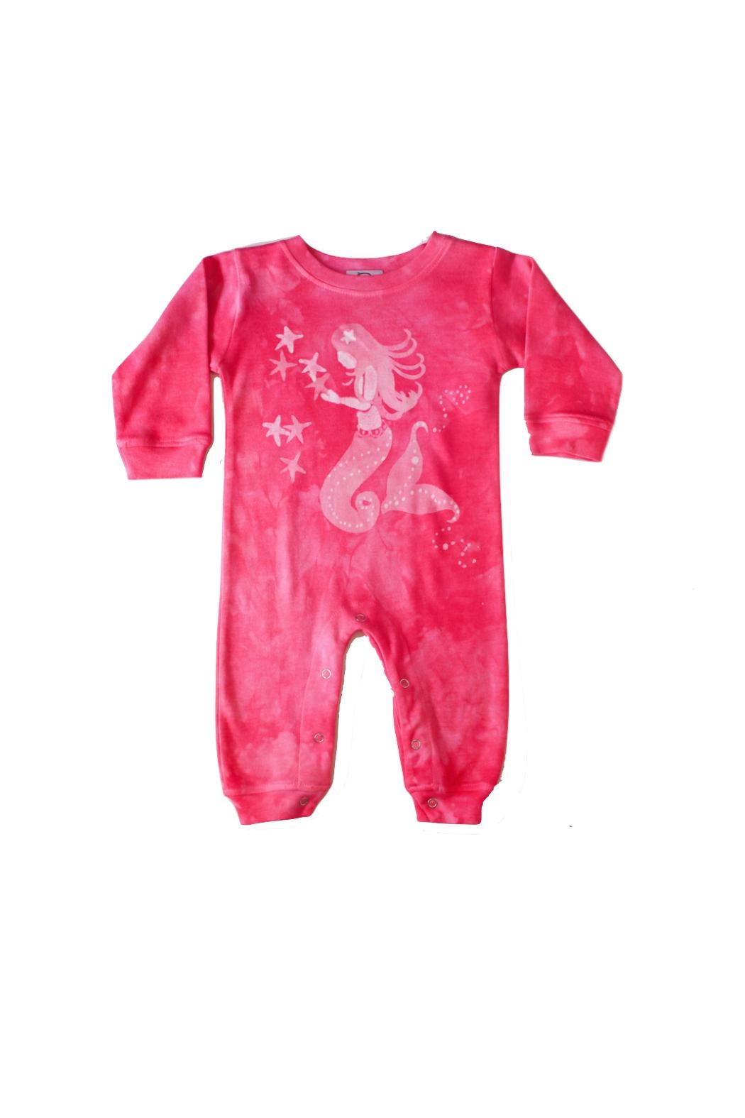 LizzyLoo Designs Mermaid Romper - Front Cropped Image
