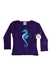 LizzyLoo Designs Seahorse Shirt - Product Mini Image