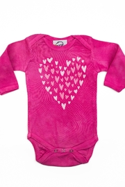 LizzyLoo Designs Tiny Hearts Onesie - Front cropped
