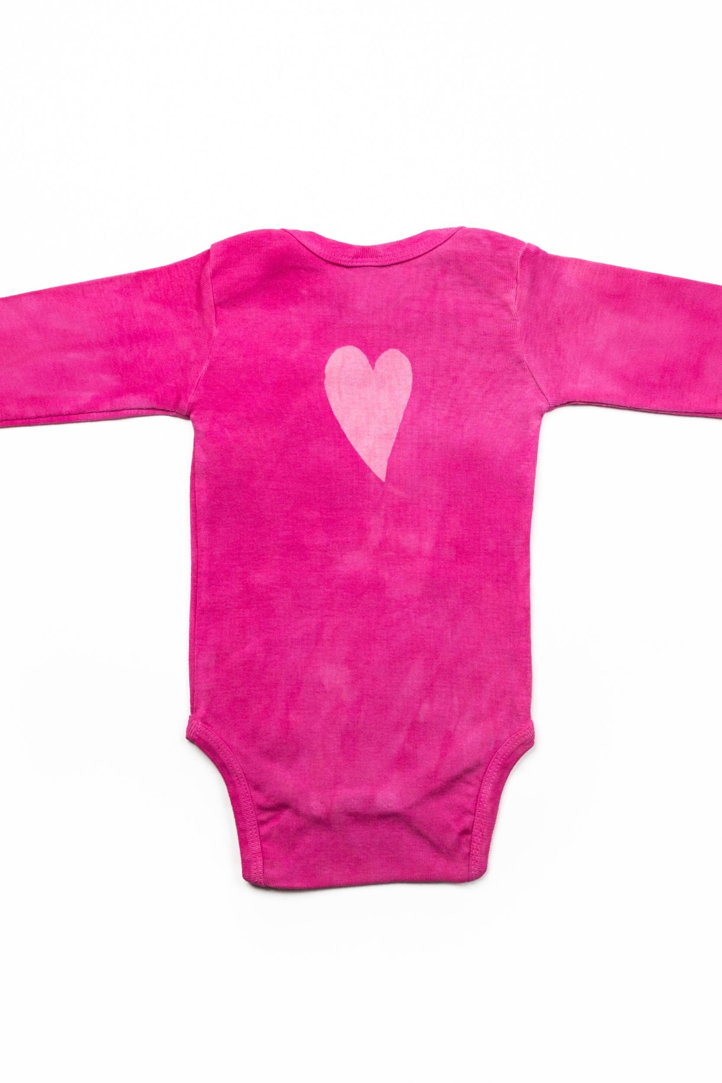 LizzyLoo Designs Tiny Hearts Onesie - Front Full Image