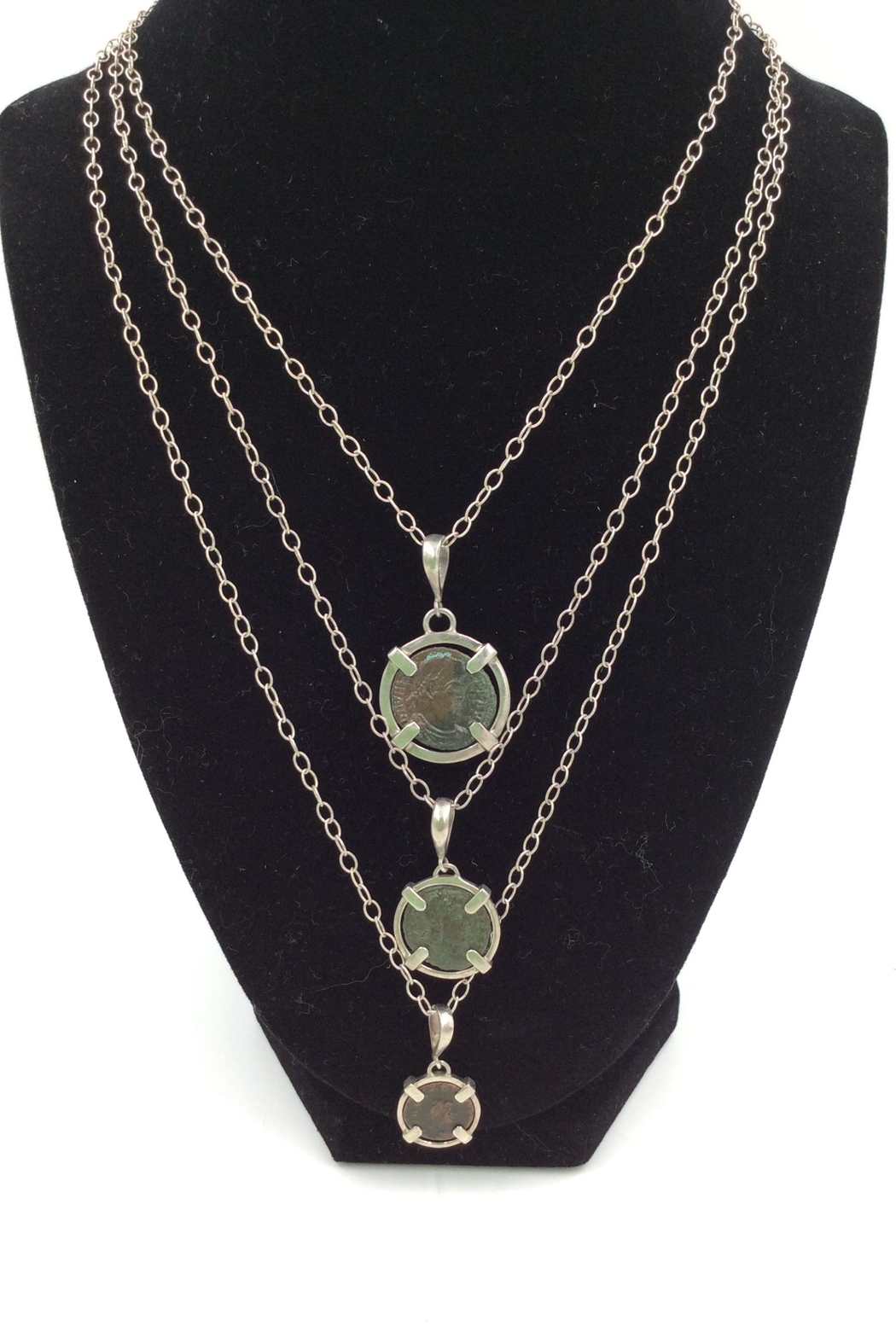 LJ Jewelry Designs Ancient Coin Necklace - Main Image