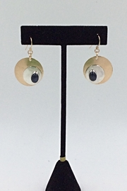 LJ Jewelry Designs Blue Sapphire Earrings - Product Mini Image