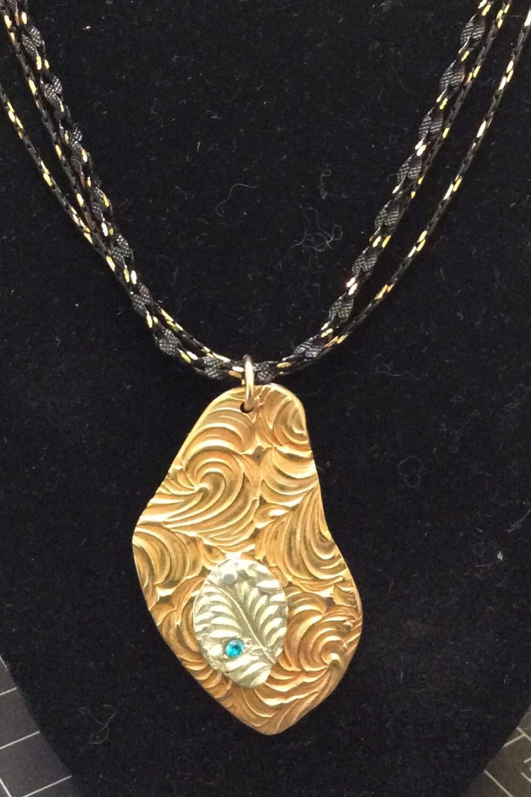 LJ Jewelry Designs Bronze/fine Silver Necklace - Side Cropped Image