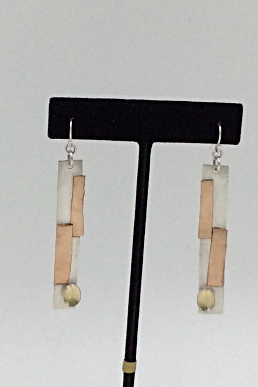 LJ Jewelry Designs Citrine Drop Earrings - Front Full Image