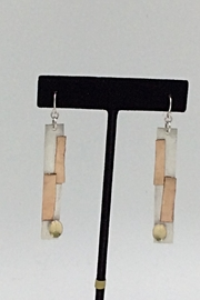 LJ Jewelry Designs Citrine Drop Earrings - Front full body