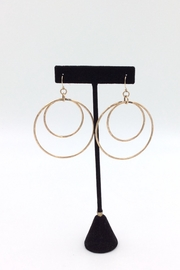 LJ Jewelry Designs Double Hoop Earrings - Product Mini Image