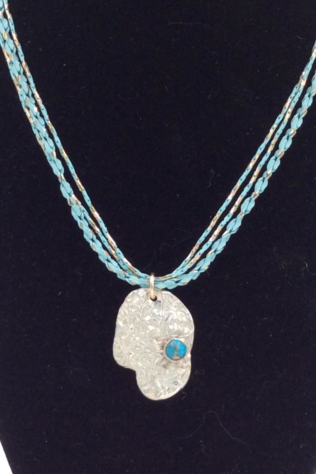 LJ Jewelry Designs Fine Silver Necklace - Front Full Image