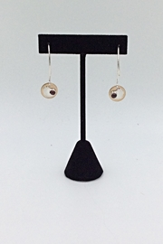 LJ Jewelry Designs Garnet Drop Earrings - Product Mini Image