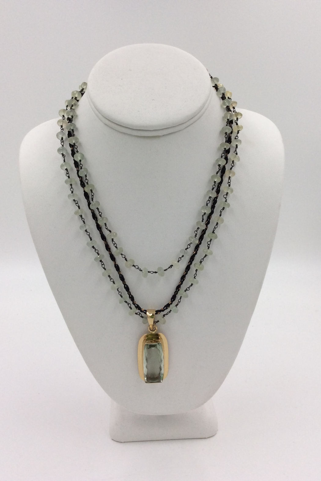 with green gold amethyst pendant necklace ln diamonds product rose