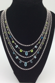 LJ Jewelry Designs Multilayer Gemstone Necklace - Product Mini Image
