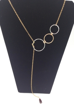 LJ Jewelry Designs Open Circle Lariat - Product List Image