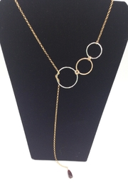 LJ Jewelry Designs Open Circle Lariat - Product Mini Image